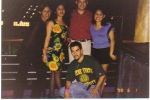 Aurea Trujillo, Cristina Chavez, Manuel De La Cruz, Patricia Sanchez y David B. Cardenas